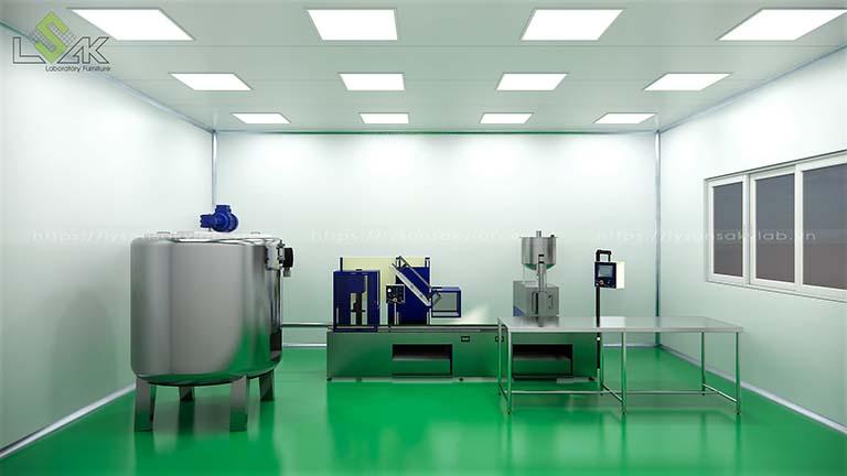 Máy khuấy trộn mỹ phẩm sử dụng trong phòng lab