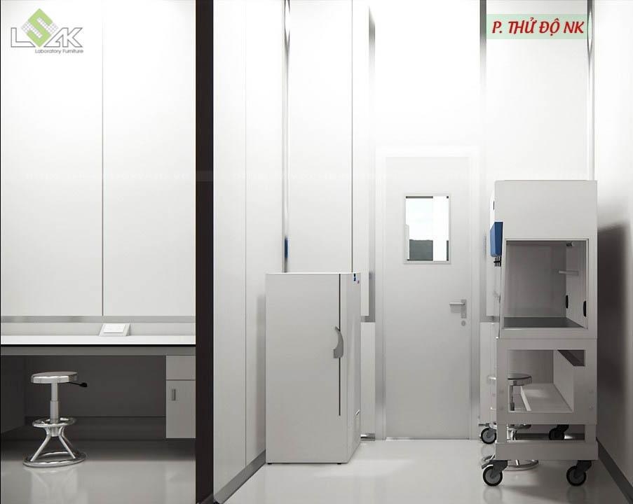 Phòng thử độ NK