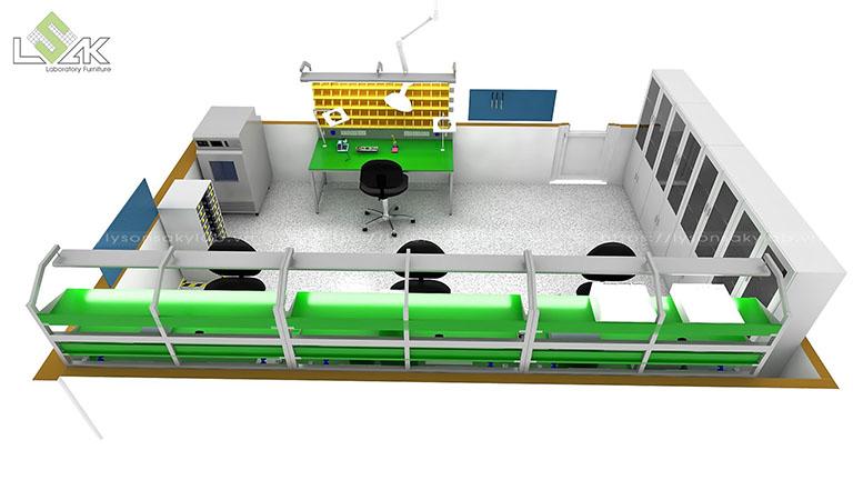 Thiết kế phòng thí nghiệm điện tử