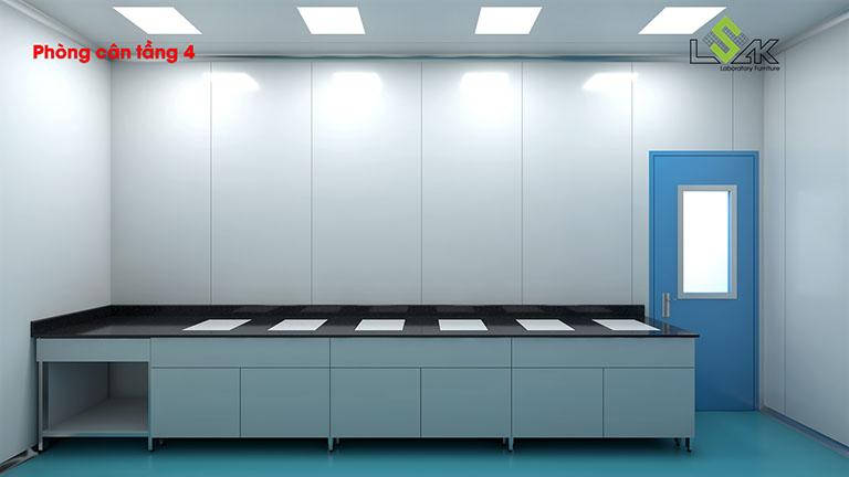 Thiết kế phòng cân phòng lab dược phẩm Savipharm