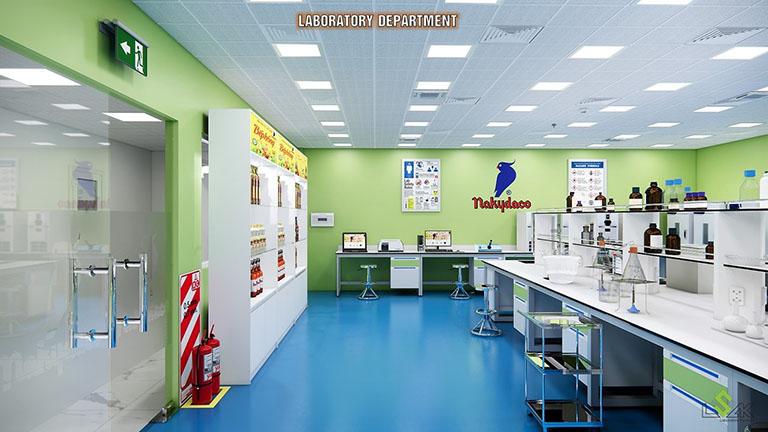 Thiết kế phòng thí nghiệm Công Ty Cổ Phần Dầu Thực Vật Tân Bình