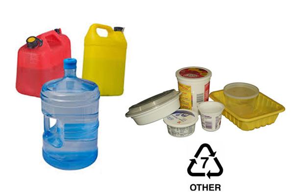 Số 7 – Các loại nhựa khác