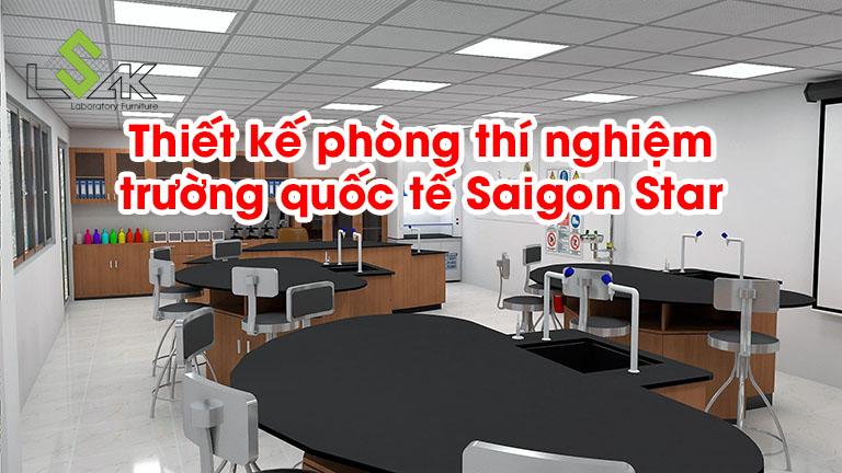 Thiết kế phòng thí nghiệm trường quốc tế Saigon Star